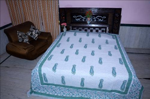 Cotton Hand Block Bed Sheets