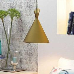 Gold Canopy Pendant Lamp