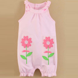 Baby Sleeveless JumpSuit