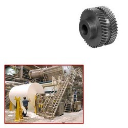 Double Helical Gear for Paper Mills