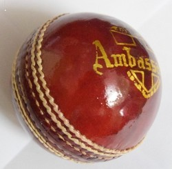 BDM Ambassador Cricket Leather Ball