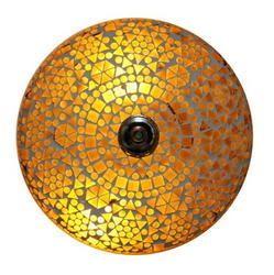 Yellow Mosaic Ceiling Lamp