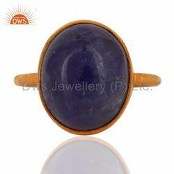 Tanzanite Gemstone Silver Ring