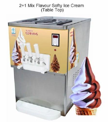 Gravity Feed Series Softy Ice Cream Machine