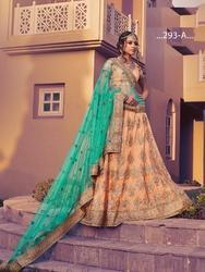 Lehenga Choli With Gota Work