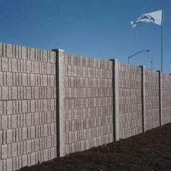 Precast Cement Security Wall