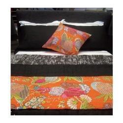 Cotton Reversible Kantha Blanket