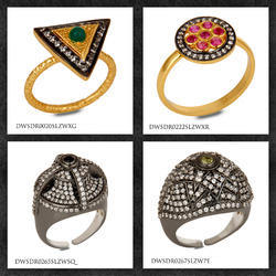 CZ Gemstone Rings