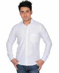 Cool White M1 Cotton Shirt