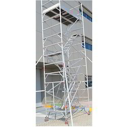 Single Width Scaffold with Stair on Rental