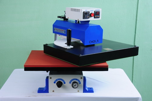 Single Bed Pneumatic Fusing Machines