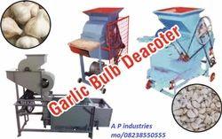 Small Garlic Bulb Cutter Machine