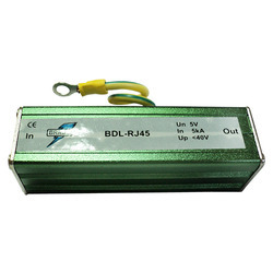 POE RJ45 Surge Protector for Security System