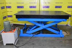 Scissor Lift Welding Tables