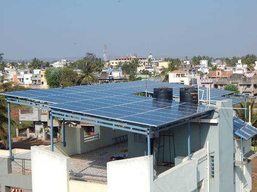 Solar Rooftop System Super Structure Solar Rooftop