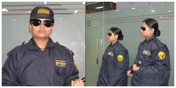 lady security guard services
