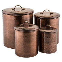 Canister Set Copper