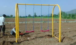 FRP U Type Playground Swings