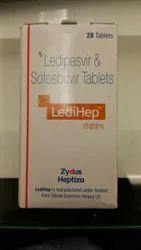 Ledipasvir and Sofosbuvir LediHep