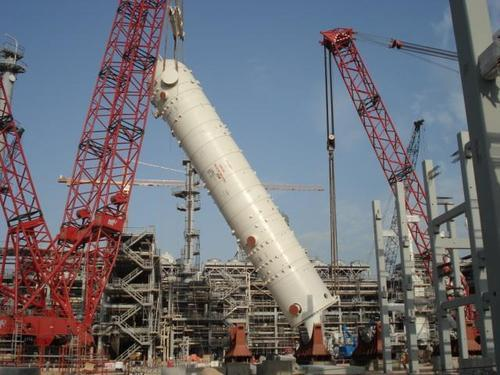 Structure Erection Services Heavy Equipment Erection