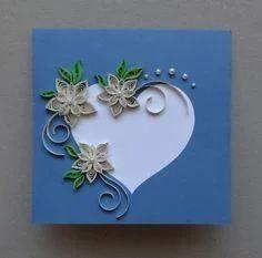 Handmade greeting card quilling decorative greeting card service quilling decorative greeting card stopboris Choice Image