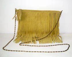 Leather Fringe Slings Bags