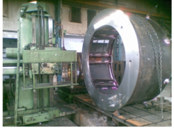Floor Boring Machine Job Work
