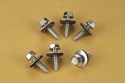 Self Drilling Screws with EPDM Washer