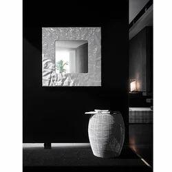 Mito Quadrato Bianco Bathroom Mirror