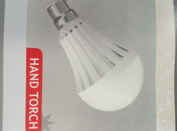 Emergency AC DC LED Bulb 7 Watt to 12 Watt