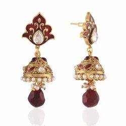 Antique Diamond Victorian Earrings