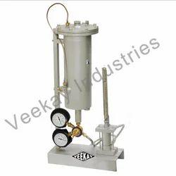 Rock Permeability Test Apparatus