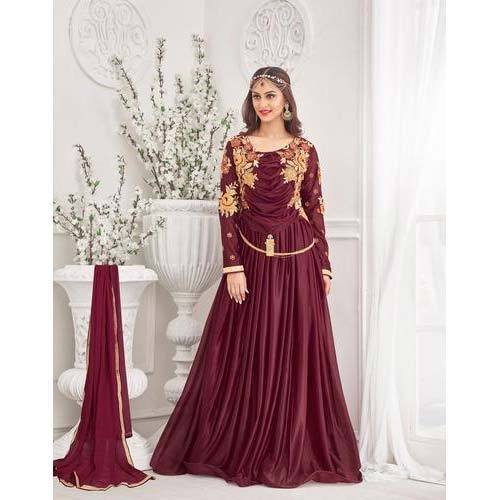 Designer Gowns - Unique Designer Gowns Manufacturer from Surat
