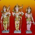 Marble Ram, Lakshman, Sita Statue