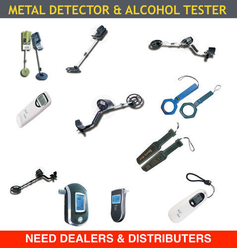 Metal Detector and Alcohol Tester