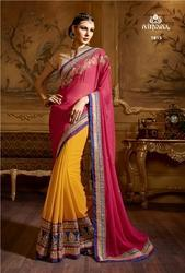 Wedding Wear Heavy Designer Fancy Saree