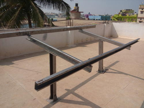 Solar base structure fabrication - Solar Base Frame Manufacturer ...