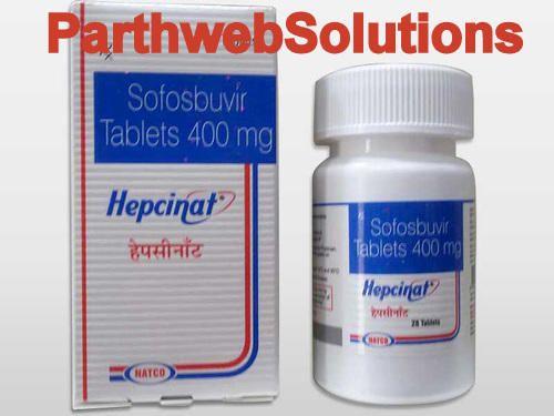 Hepcinat 400mg Sofosbuvir Tablets