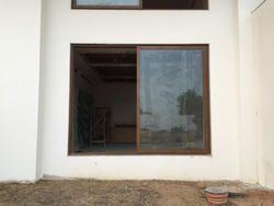 Dumal Wood Coating Aluminium Sliding Windows