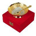 Brass Gold Silver Bowl