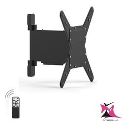 Remote Control Motorized Curved and Flat Panel TV Wall Mount