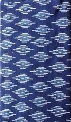 Indigo Mud Printed Cotton Fabric