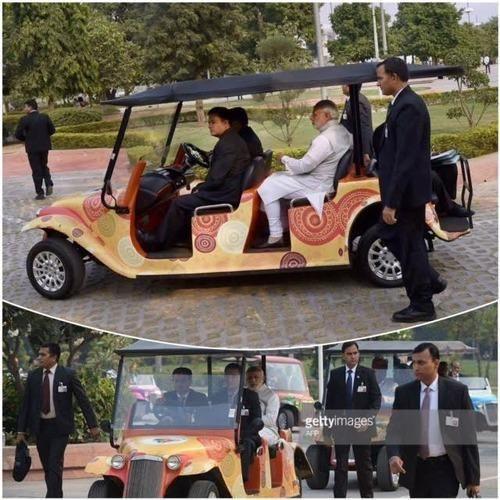 Vintage Golf Cart On Rental