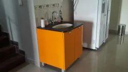 simple bathroom dining sink cabinet