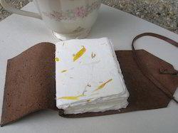 Marigold Flower Handmade Paper For Journal Makers