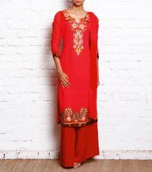 Pakistani Long Dress Designer Salwar Kameez Suit