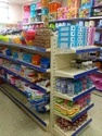 Supermarket  Double Side Rack