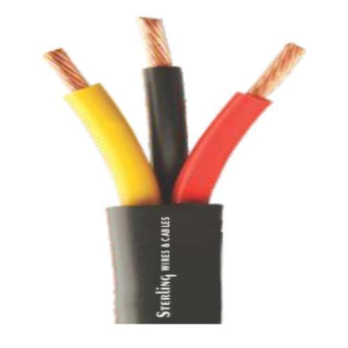 Multi Core PVC Wires - 3 Core Stranded Flat Cables Manufacturer from ...