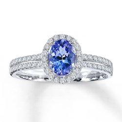 3 Carat AAA Blue Sapphire Ring