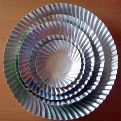 paper plates with wrinkle